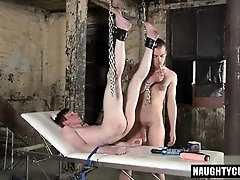 Hot twinks domination and facial