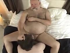 chub bear dad and son