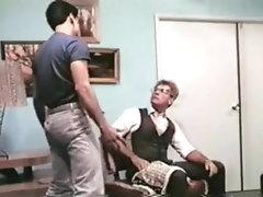 Dad spanks Son for Bad Grades