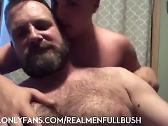 Verbal RolePlay with hairy dad and cute son