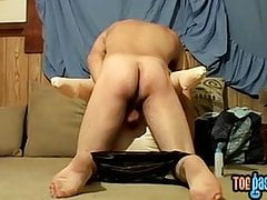 Foot fetish twink Drac fucking fleshlight and doll pussy