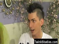 Gay clip of When bored teenager twinks get together, they play roll