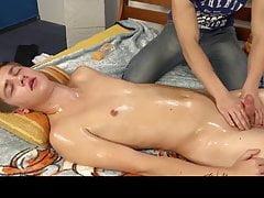 Oil, Massage And Handjob