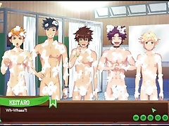 Camp Buddy - Keitaro In The Bath