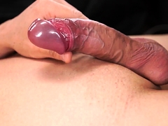 Sexy European twinks fucking and jerking
