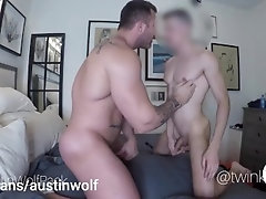 Austin Wolf bred a young sub bareback on 4my.fans/austinwolf