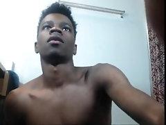 african boy dildo cum