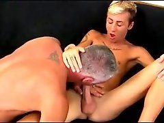 Silver Dad Fucks Twink
